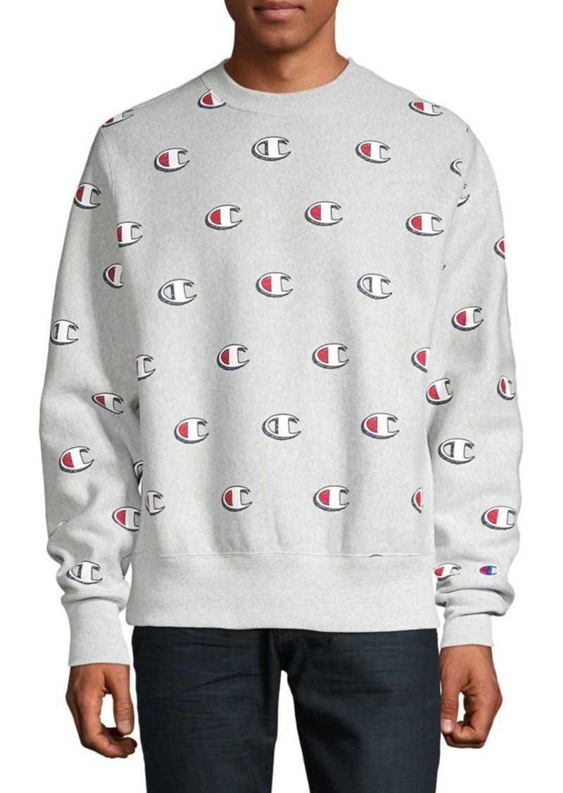 Champion Logo Printed Sweatshirt