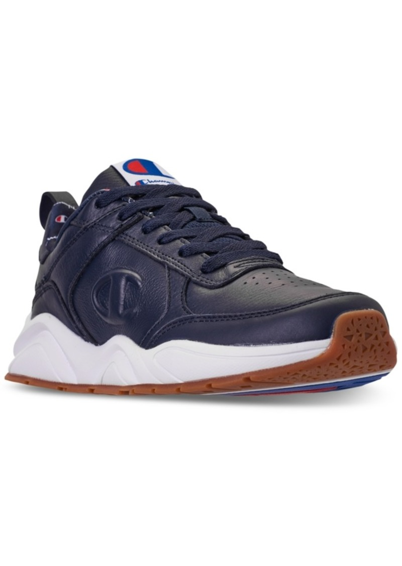 c63b3bf8c Champion Champion Men s 93Eighteen Leather Casual Sneakers from ...
