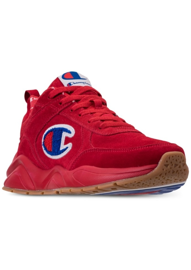 085ebcabb2a Champion Men s 93Eighteen Suede Chenille Athletic Training Sneakers from  Finish Line