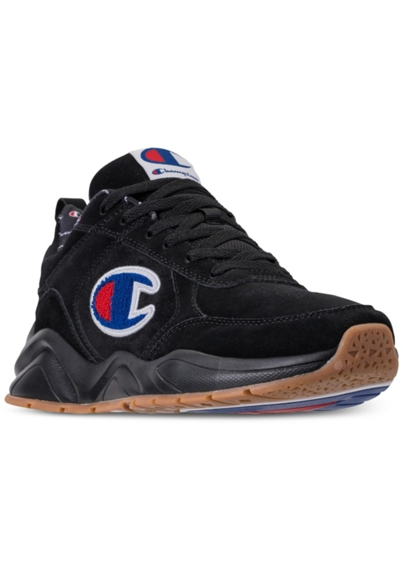 a0f1fb66b Champion Men s 93Eighteen Suede Chenille Athletic Training Sneakers from  Finish Line