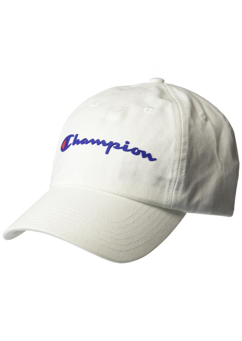 Champion Men's Ameritage Dad Adjustable Cap white OS