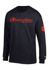 Champion Men's Clemson Tigers Co-Branded Long Sleeve T-Shirt