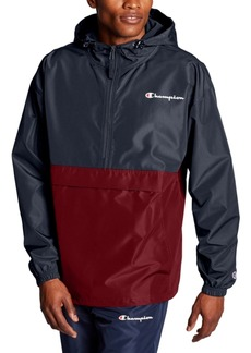 Champion Men's Colorblocked Packable Half-Zip Jacket