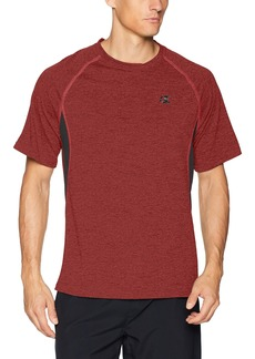 Champion Men's Double Dry Vented Tee with Freshiq  L