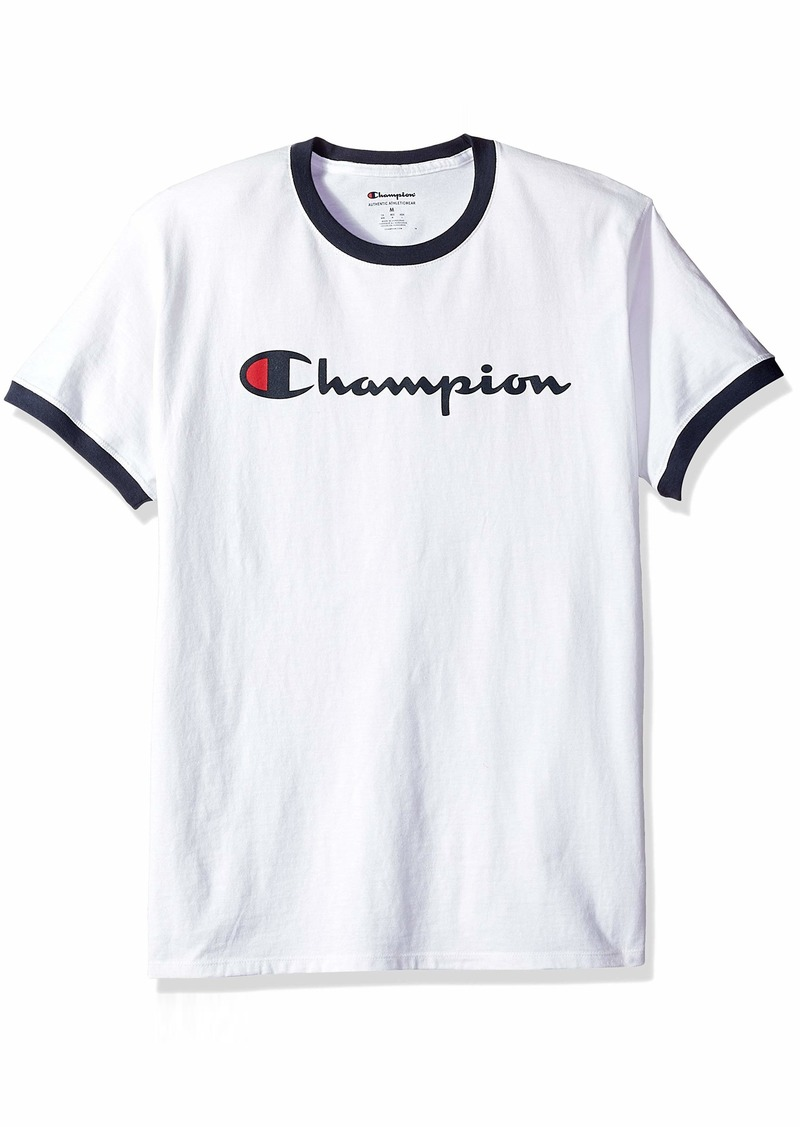 Champion Men's Jersey Ringer Tee