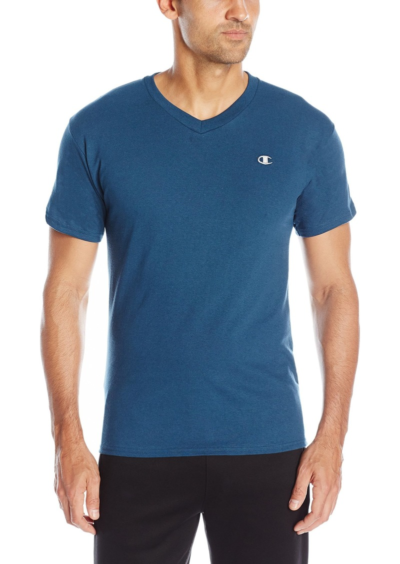 Champion Men's Jersey V-Neck T-Shirt  S