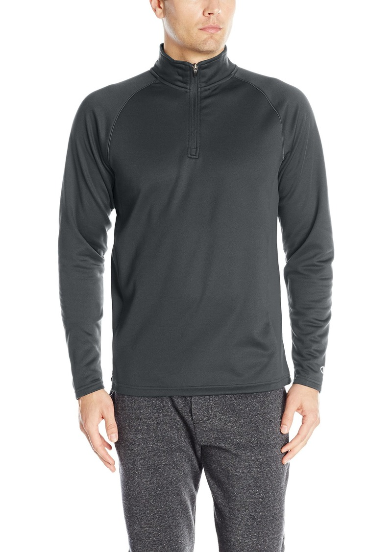 Champion Men's Performance Quarter Zip Fleece Jacket