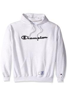 Champion Men's Retro Graphic Pullover Hoodie