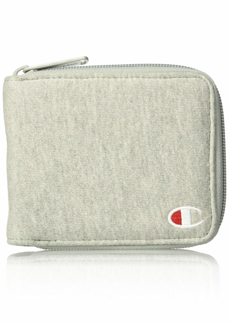Champion Men's Reverse Weave Zip Bifold Wallet
