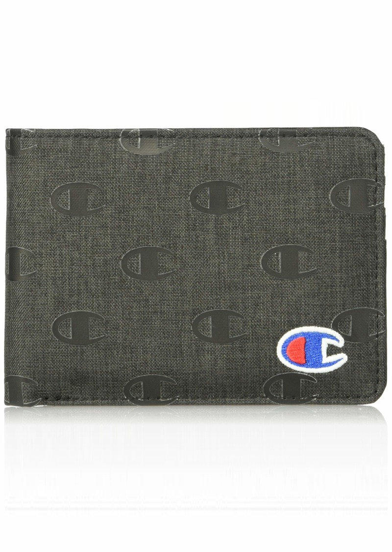 Champion Men's Rhyme Bifold Wallet black