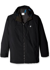 Champion Men's Technical Ripstop with Puffy 3-in-1 Winter Jacket-Big Sizes