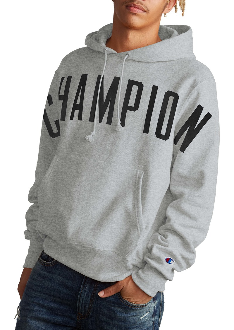 Champion Oversize Script Hooded Sweatshirt