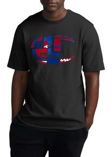 Champion Patchwork Heritage Logo Graphic T-Shirt