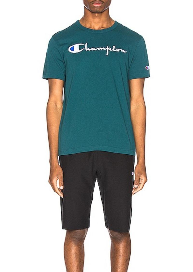 Champion Reverse Weave Big Script T-Shirt