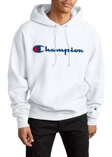 Champion Reverse Weave® Chenille Logo Hoodie