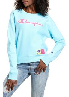 Champion Reverse Weave® Chenille Logo Sweatshirt