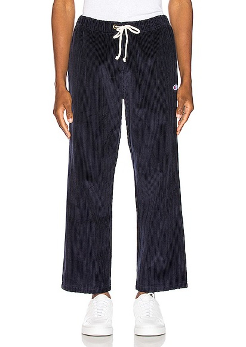 Champion Reverse Weave Corduroy Straight Hem Pant