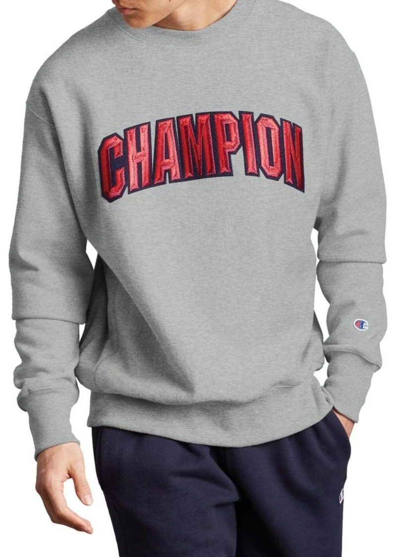 Champion Reverse Weave® Crew Block Champion Arch Sweatshirt