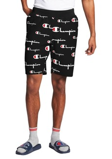Champion Reverse Weave Printed Cut-Off Shorts