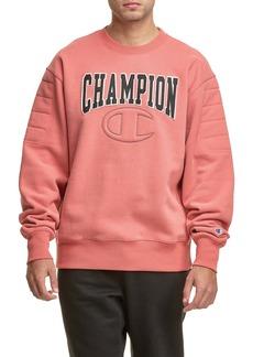 Champion Reverse Weave Quilted Crew Sweatshirt