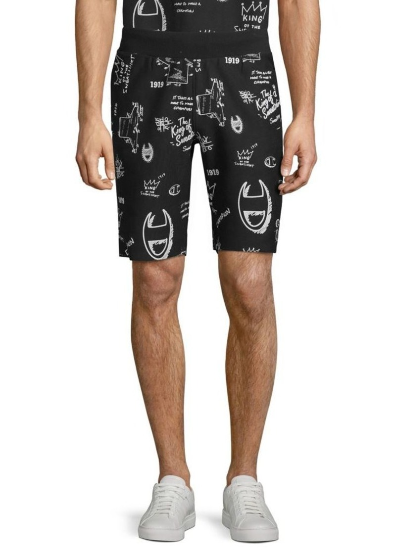 Champion Reverse-Weave Signature Cutoff Shorts