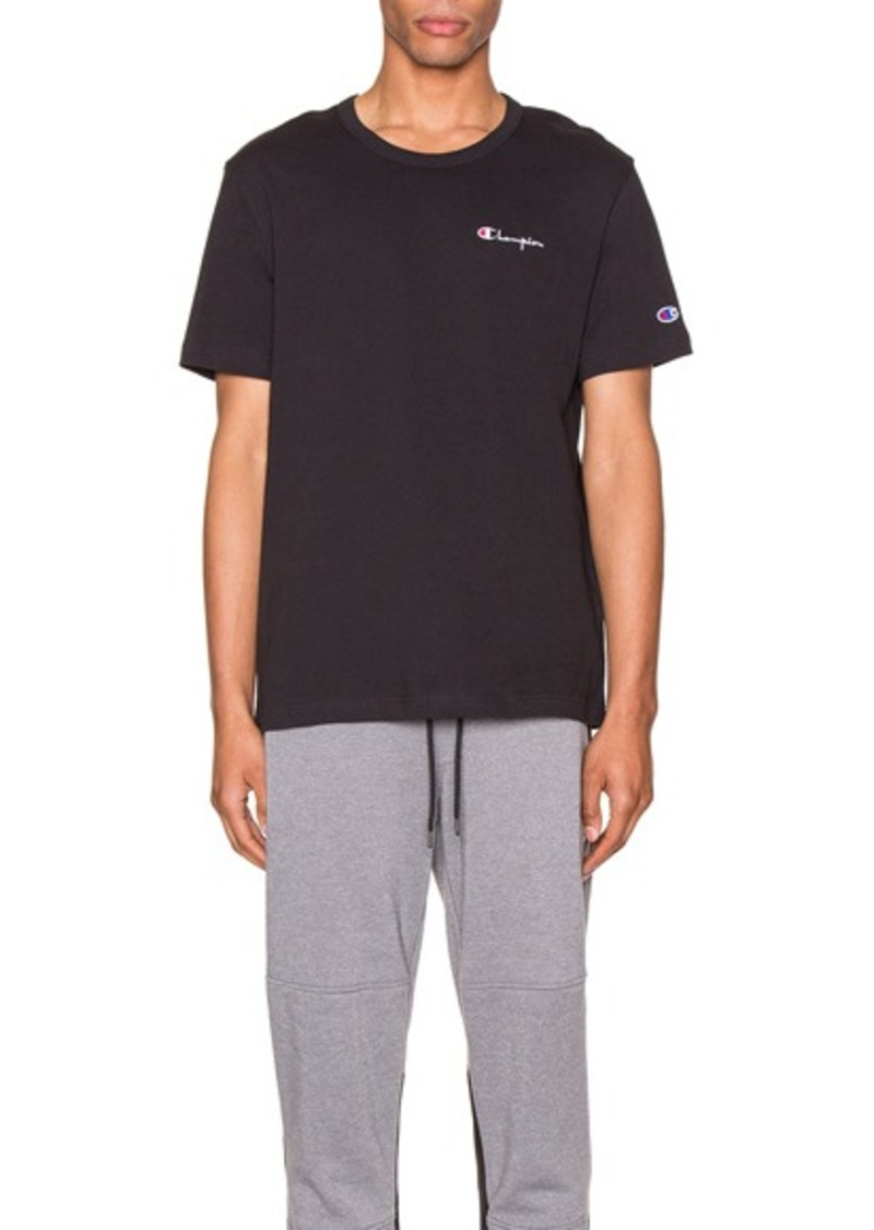 Champion Reverse Weave Small Script T-Shirt
