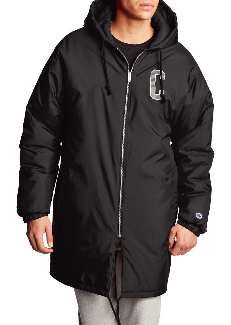 Champion Sideline Hooded Coach's Jacket
