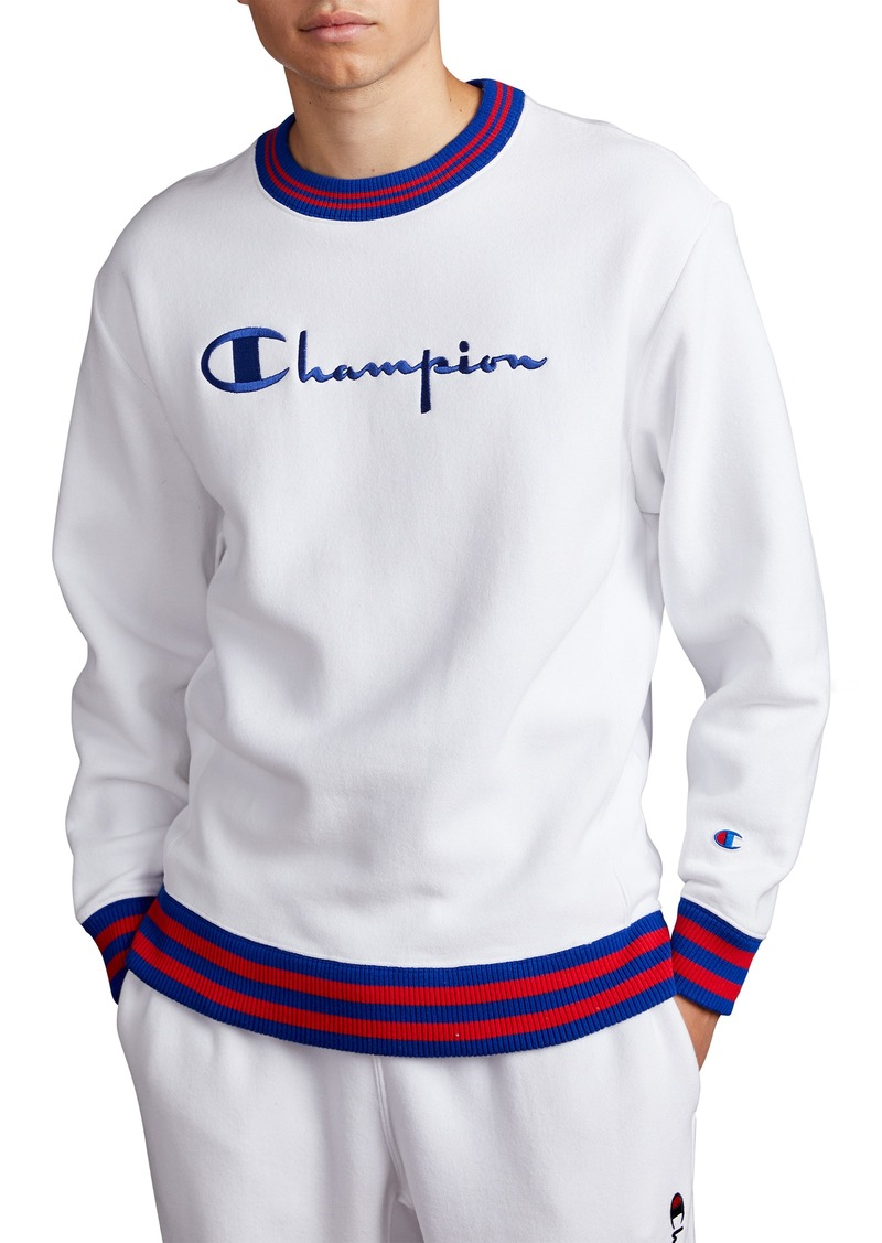 Champion Tipped Crewneck Sweatshirt