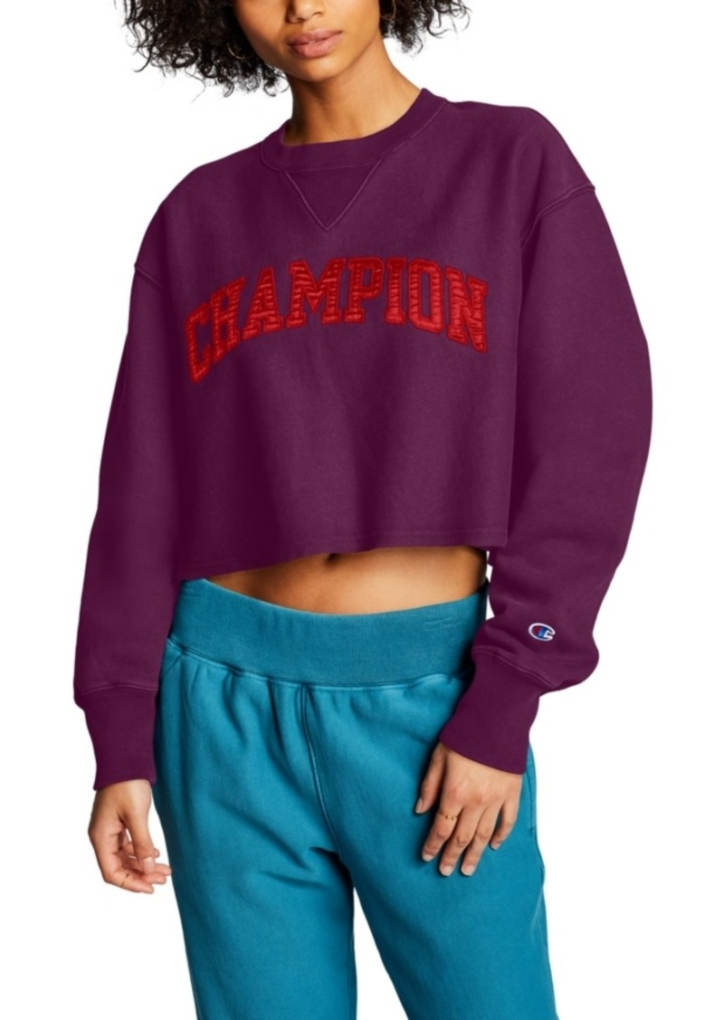 Champion Vintage Wash Cropped Sweatshirt