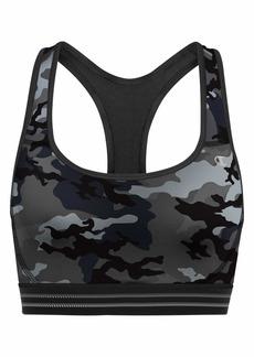 Champion Women's Absolute Workout Sports Bra Bra Leaf camo Neutral/Black