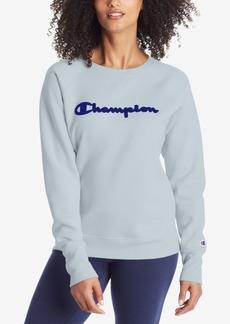 Champion Women's Applique Logo Sweatshirt