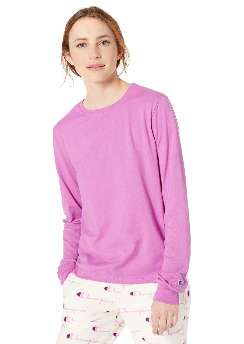 Champion Women's Classic Long Sleeve Tee Our