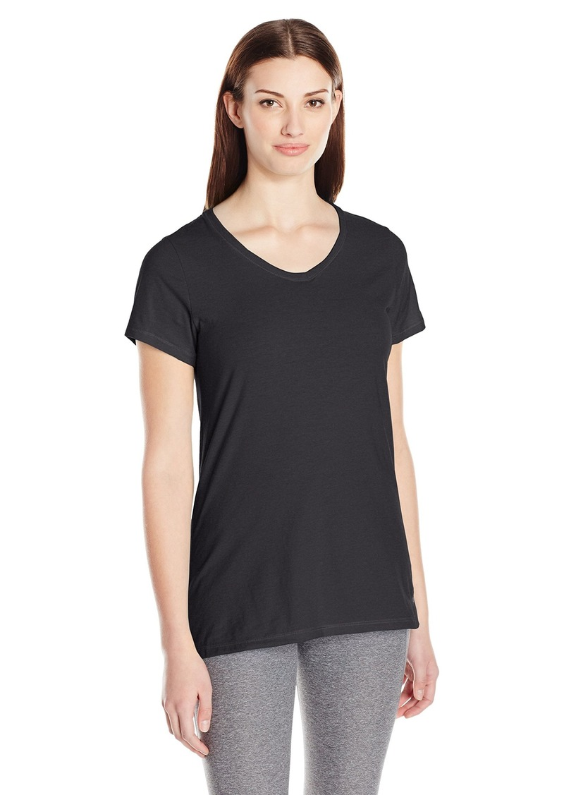 Champion Women's Double Dry Cotton Tee  M