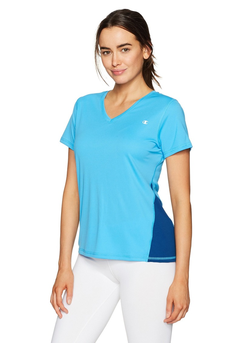 Champion Women's Double Dry Select Tee-Xtemp  X Small