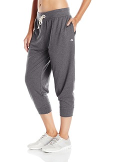 Champion Women's French Terry Jogger Capri  S