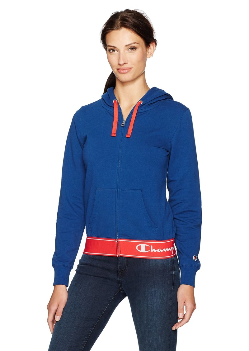 Champion Women's French Terry Zip Hoodie (Edition)  XL
