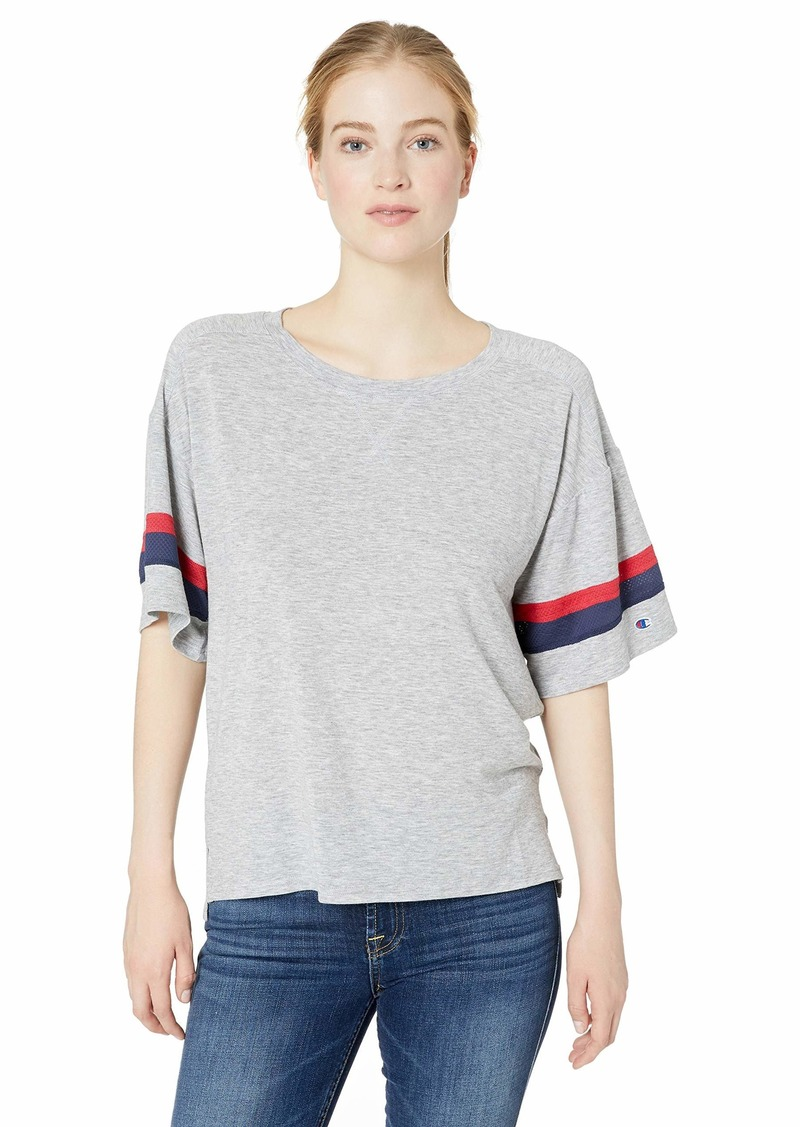 Champion Women's Gym Issue Football Tee
