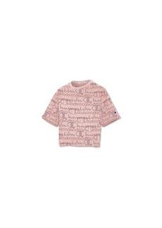 Champion Women's Logo-Print Cropped T-Shirt