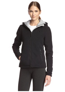 Champion Women's Micro Fleece Sherpa Bonded Jacket  L