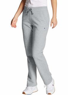 Champion Women's Fleece Open Bottom Pant  X Small