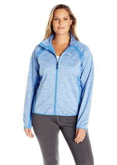 Champion Women's Plus Size Knit Softshell Jacket