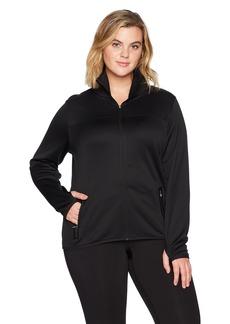 Champion Women's Plus Size Premium Performance Fleece Full-Zip Jacket   Large