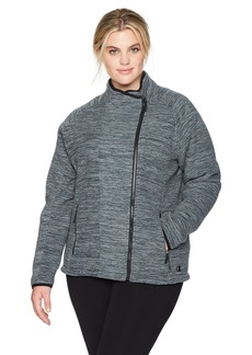 Champion Women's Plus Size Sherpa Lined Fleece Jacket