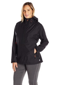 Champion Women's Plus Size Stretch Waterproof Rain Jacket