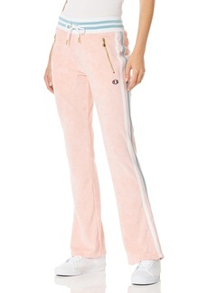 Champion Women's Terry Cloth Warm-Up Slim Flare Pant  XS