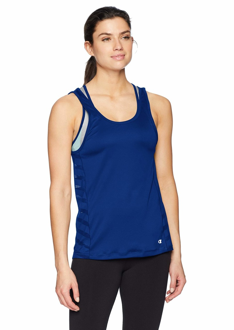 Champion Women's Train Tank with Built in Bra surf The Web S