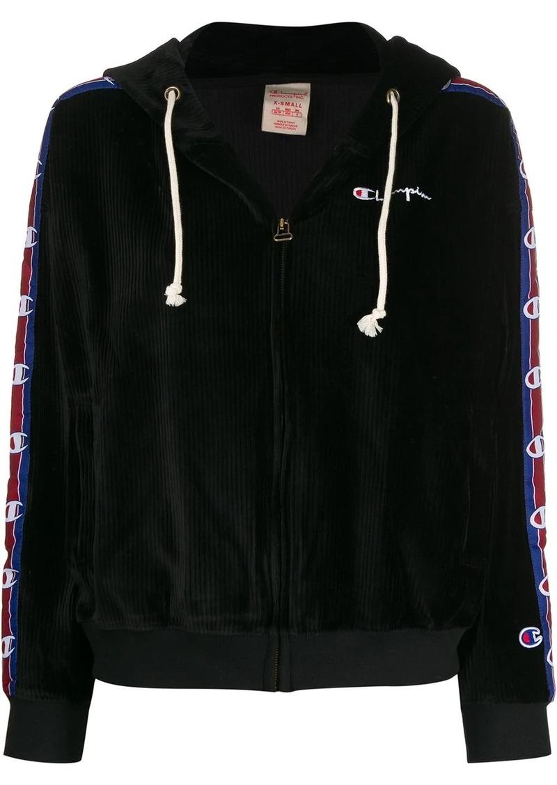 Champion corduroy zip-up hoodie