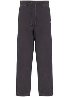 Champion drawstring waist cotton trousers