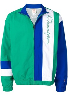 Champion embroidered sports jacket