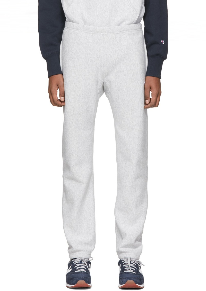 Champion Grey Core Jogger Sweatpants